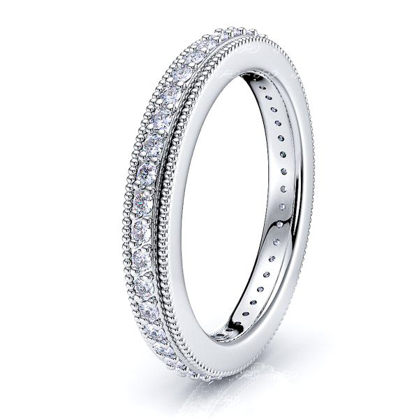 Delia Diamond Women Eternity Ring