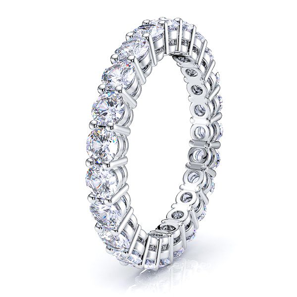 Camilla Diamond Women Eternity Band