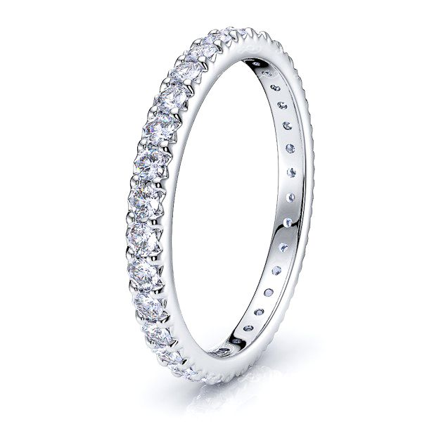 Andromeda Diamond Women Eternity Ring