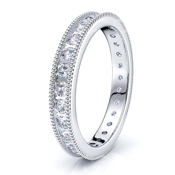 Rosaline Channel Set Women Eternity Ring