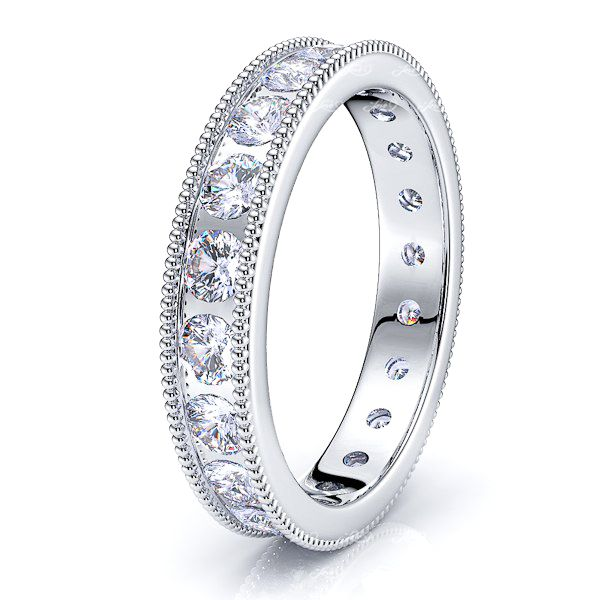 Priya Channel Set Women Eternity Band