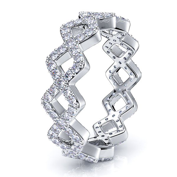 Leda Women Eternity Ring