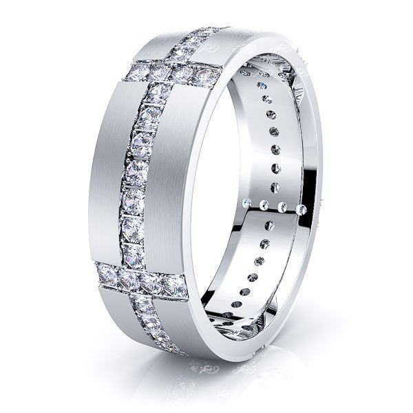 Ellie Mens Diamond Wedding Ring