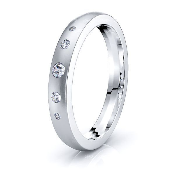 Cordelia Mens Diamond Wedding Band