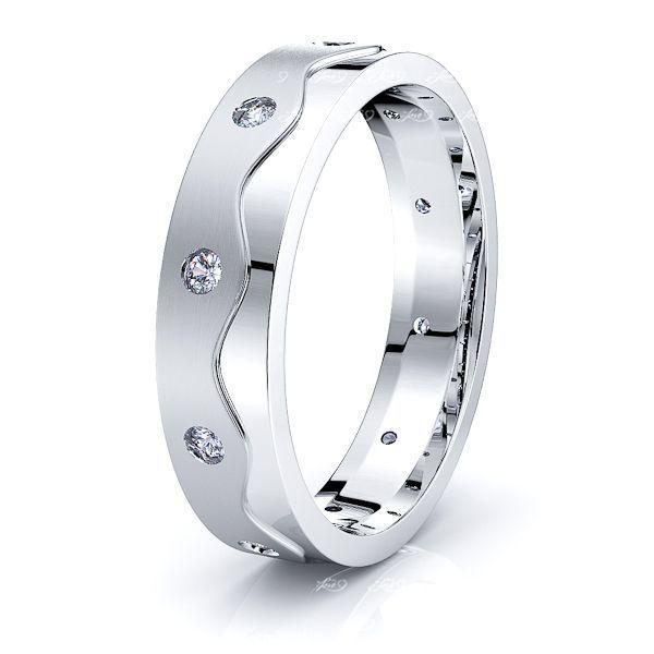 Ava Mens Diamond Wedding Ring