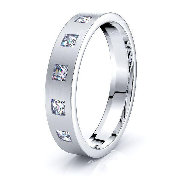 Elizabeth Mens Diamond Wedding Ring