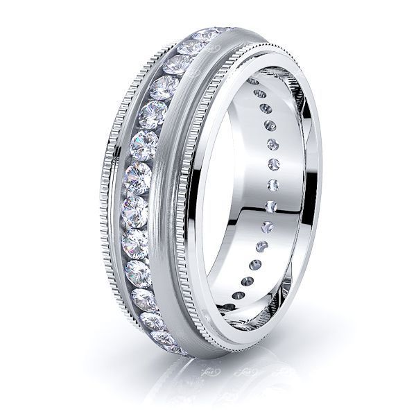 Aria Mens Diamond Wedding Ring