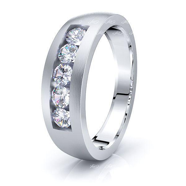 Seraphina Mens Diamond Wedding Band