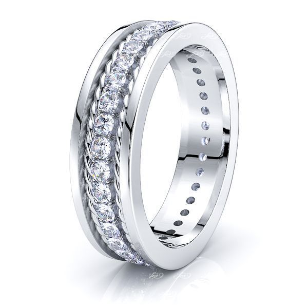 Mia Mens Diamond Wedding Ring