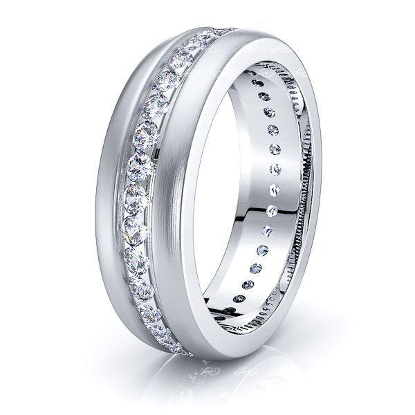 Sophia Mens Diamond Wedding Ring