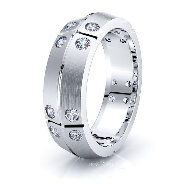 Esme Mens Diamond Wedding Ring