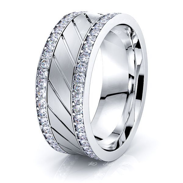 Louisa Mens Diamond Wedding Band