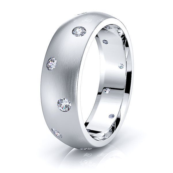 Sadie Mens Diamond Wedding Ring