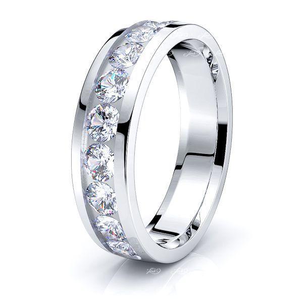 Frances Mens Diamond Wedding Ring