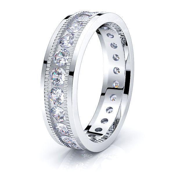 Madeline Mens Diamond Wedding Ring