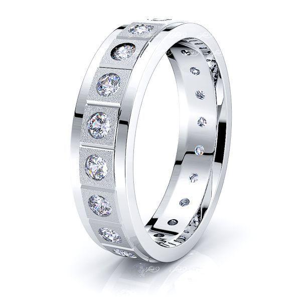 Quinn Mens Diamond Wedding Ring
