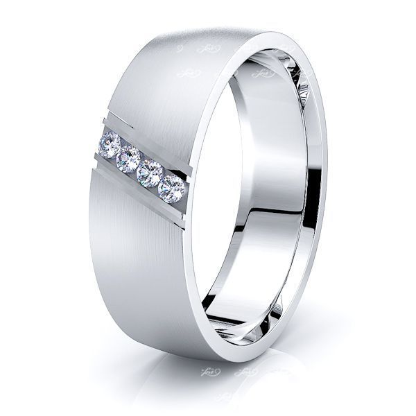 Millie Mens Diamond Wedding Band
