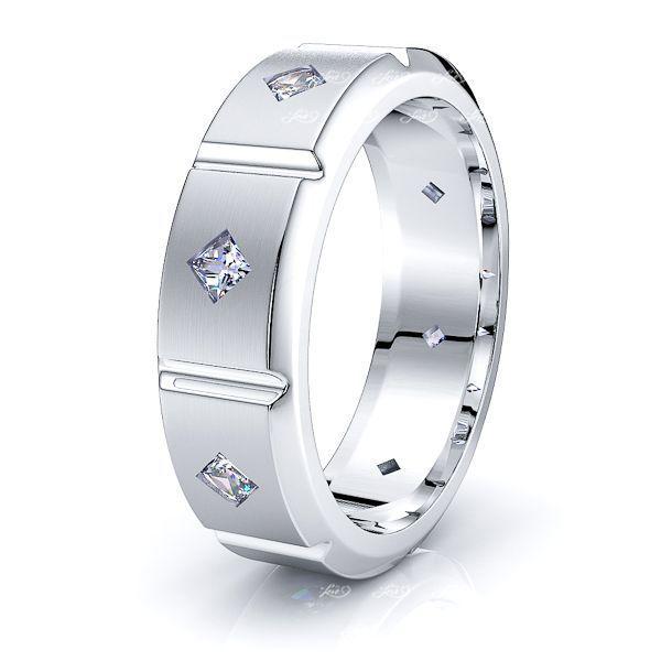 Avery Mens Diamond Wedding Band