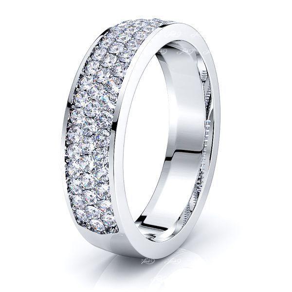 Tabitha Mens Diamond Wedding Ring