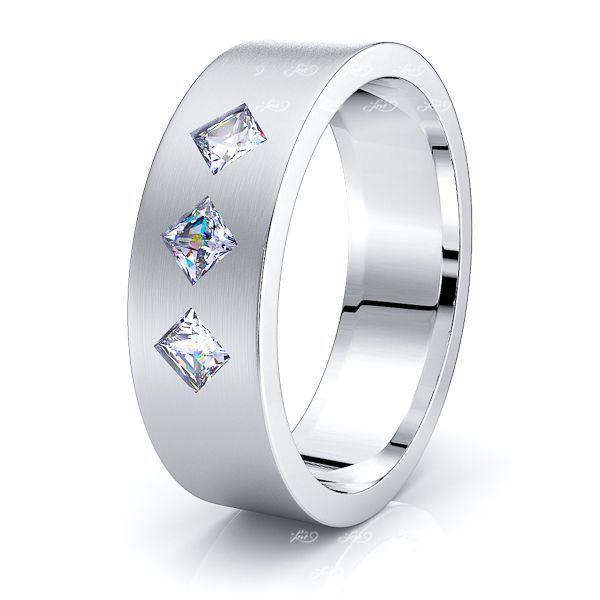 Cosette Mens Diamond Wedding Band