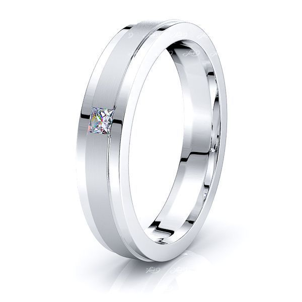 Calla Mens Diamond Wedding Ring