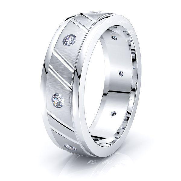 India Mens Diamond Wedding Ring