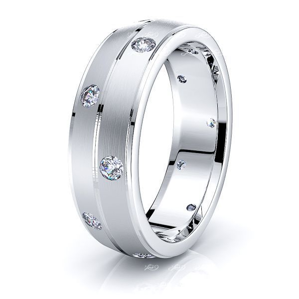 Anne Mens Diamond Wedding Band