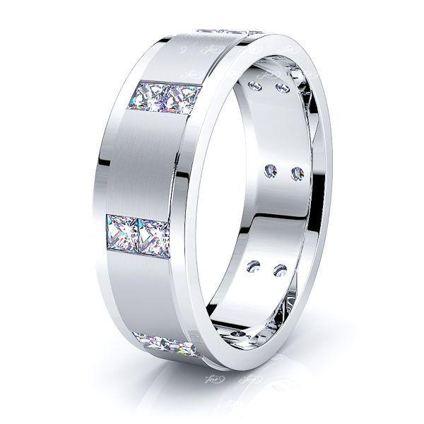 Laura Mens Diamond Wedding Ring