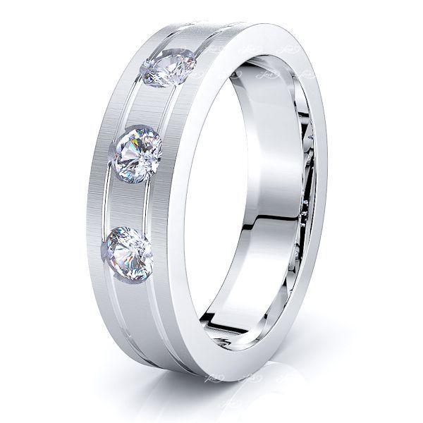 Paige Mens Diamond Wedding Ring