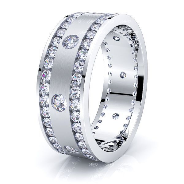 Celeste Mens Diamond Wedding Ring