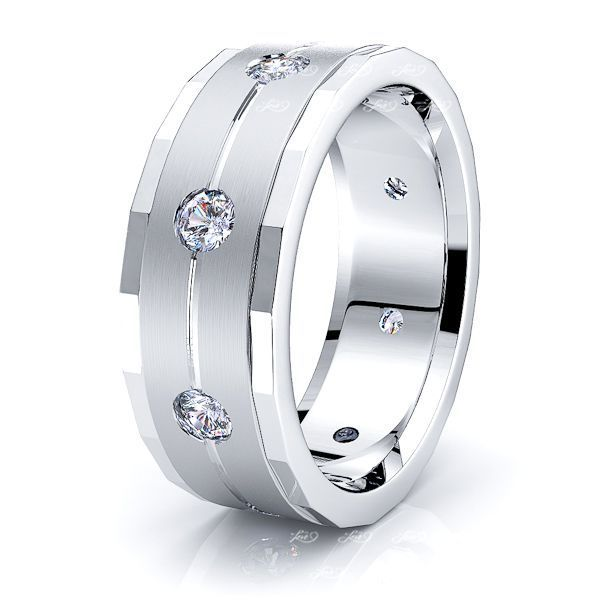 Camilla Mens Diamond Wedding Ring