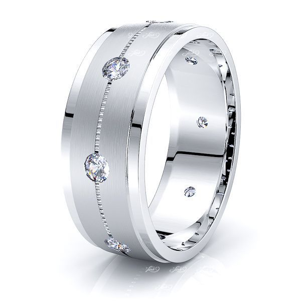 Madeleine Mens Diamond Wedding Ring