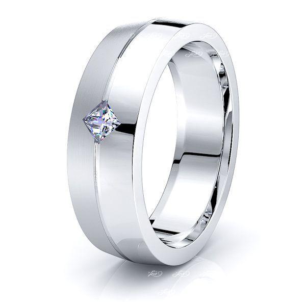 Rosalind Mens Diamond Wedding Band