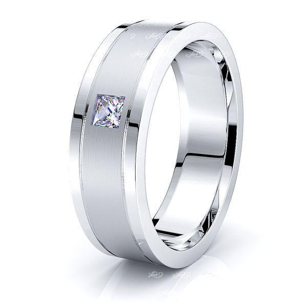 Primrose Mens Diamond Wedding Ring