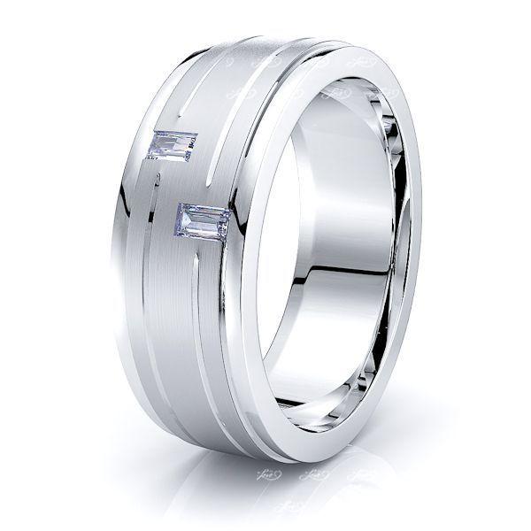 Andromeda Mens Diamond Wedding Ring