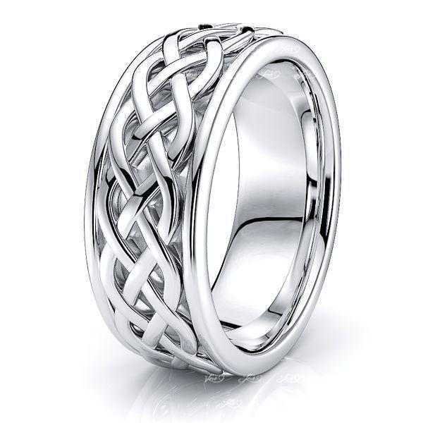 Alroy Celtic Knot Mens Wedding Ring