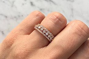Diamond Rings For Womens