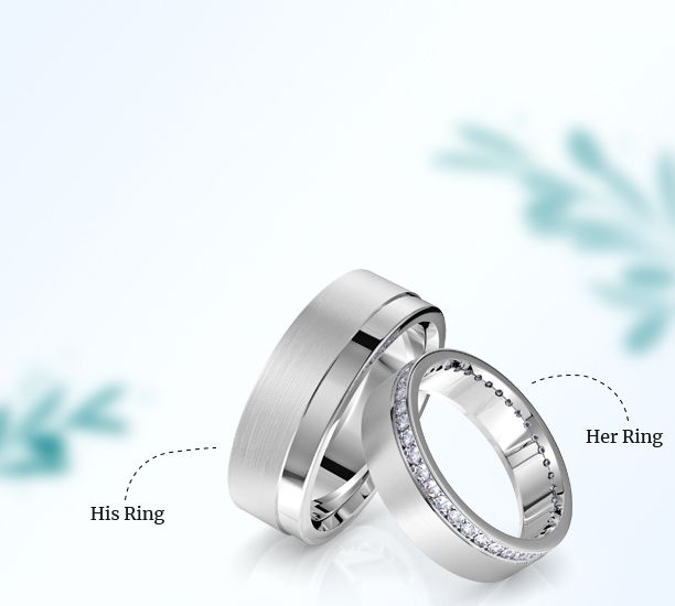 Wedding Rings for His and Her